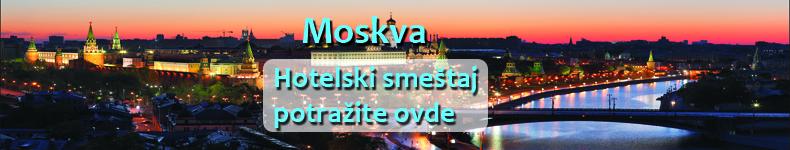 Ponuda avionske karte za Moskvu