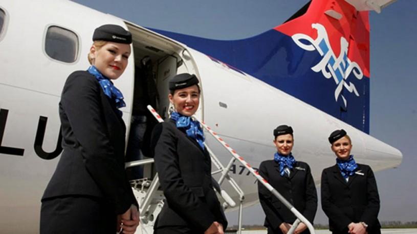 Air Serbia avionske karte