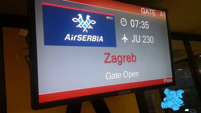 Avio karte Beograd Zagreb