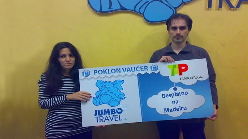 TAP i Jumbo vas vode besplatno na Madeiru
