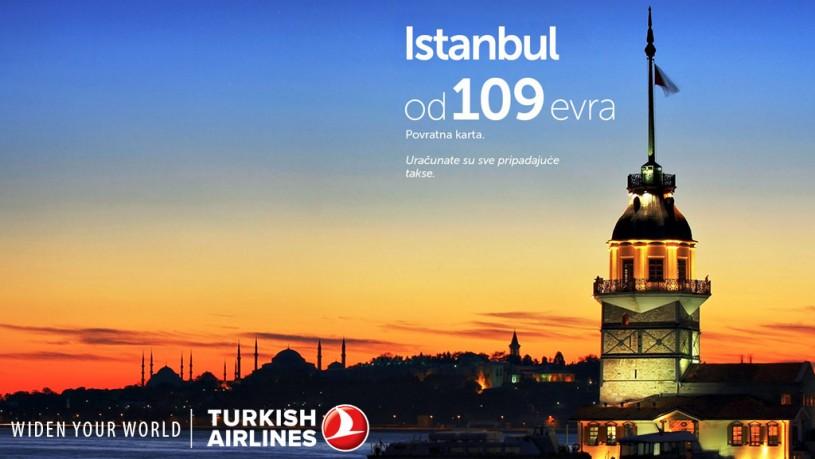 Turkish Airlines avio karte za Istanbul