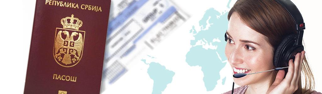 Neophodne vize za državljane Srbije