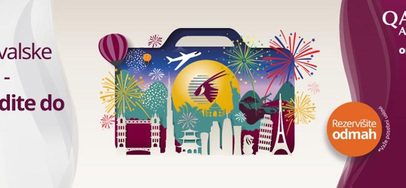 počeo qatar airways travel festival