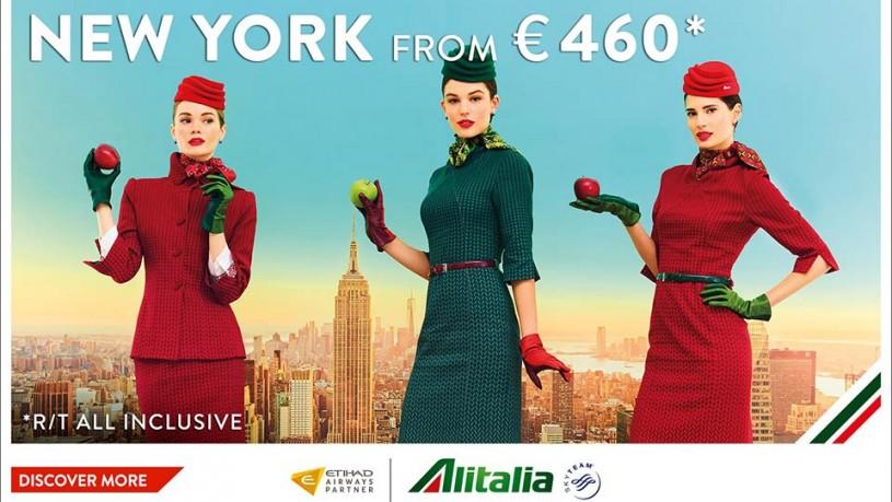 Alitalia avio karte za New York