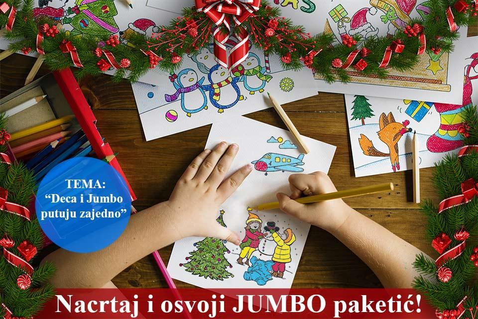 Nacrtaj i osvoji Jumbo paketić