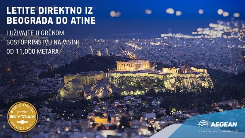 Aegean avio karte za Atinu
