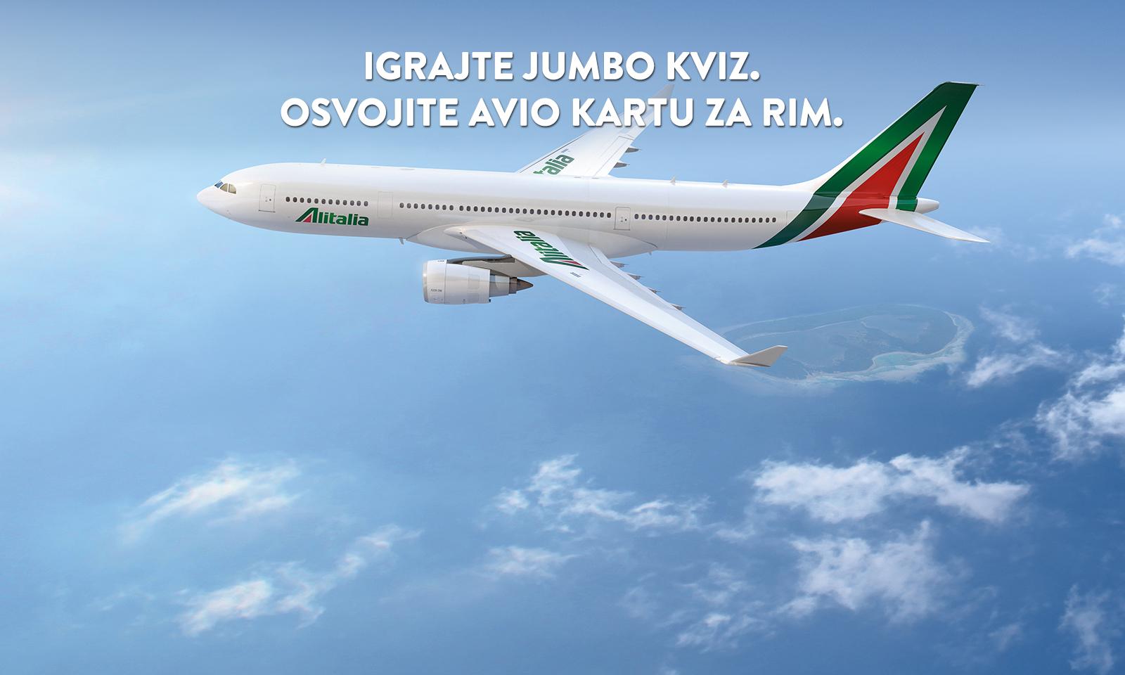 Alitalia i Jumbo travel kviz