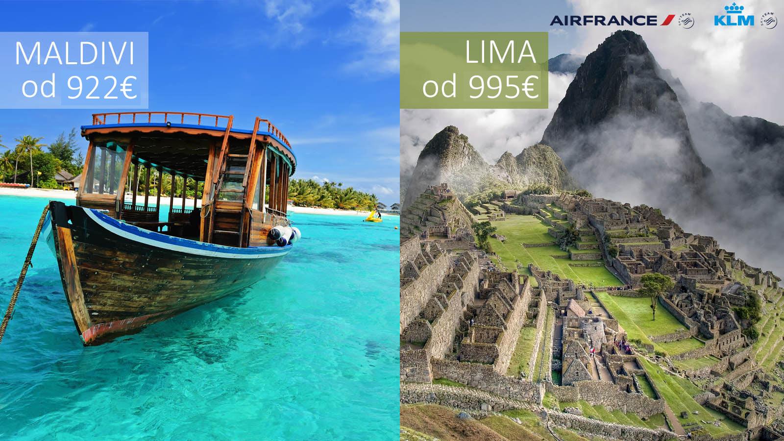 Maldivi-Lima-AirFrance-KLM