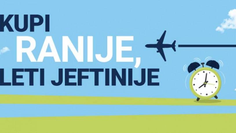 Air Serbia - Kupi ranije, leti jeftinije