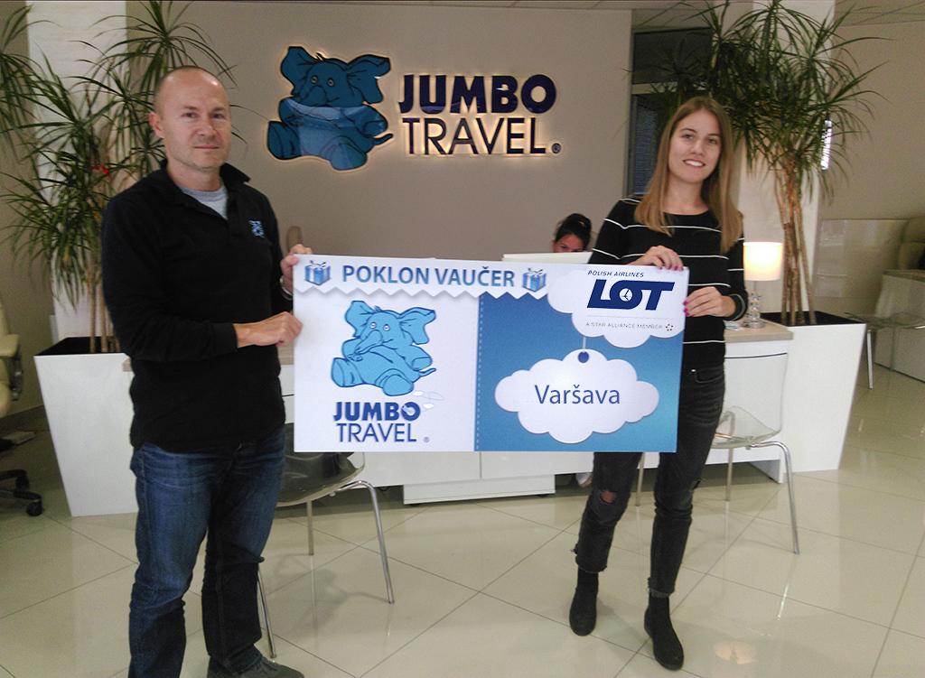 Izvučen pobednik kviza - LOT i Jumbo travel vas vode u Varšavu
