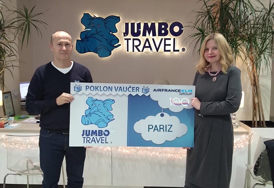 Izvučeni dobitnici - Air France-KLM i Jumbo Vas vode u Pariz