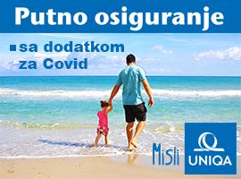 Putno zdravstveno osiguranje sa doplatom za COVID