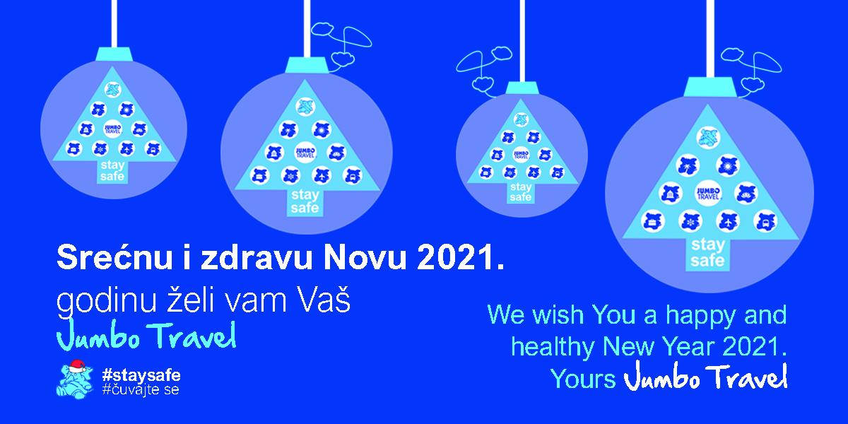 Srećna vam Nova 2021. godina - Vaš Jumbo Travel
