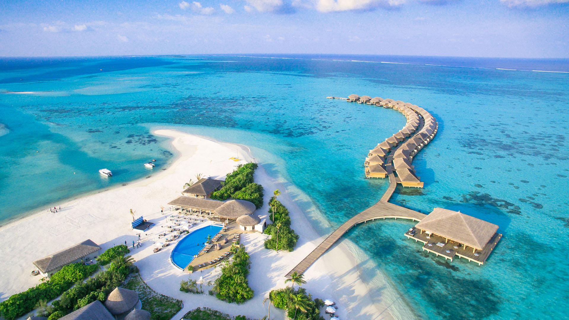 Tropske destinacije, Maldivi, Cocoon Maldives, the beach, daleke destinacije
