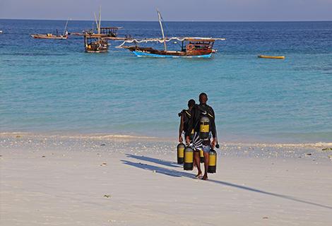 Tropske destinacije, Zanzibar, Amaan bungalows, the beach, daleke destinacije