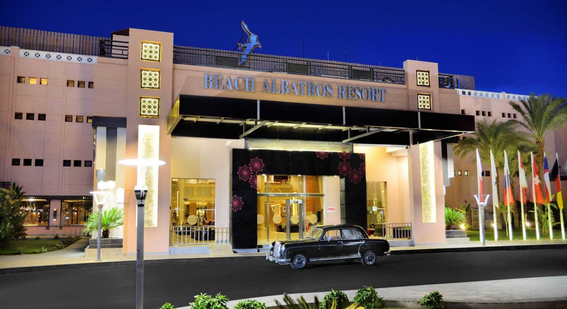 Letovanje, Egipat, Hotel Albatros Beach Resort, ulaz