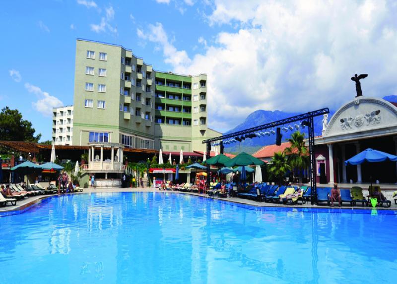 Letovanje, Turska, Kemer, Hotel Armas Kaplan Paradise, Kemer, eksterijer sa bazenom