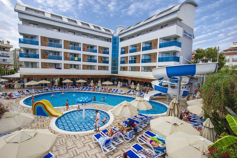 Letovanje, Alanja, Turska, Blue wave suite