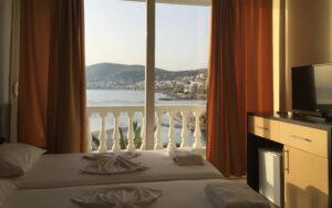 Letovanje,hotel Dodona,Sarande, plaza,more