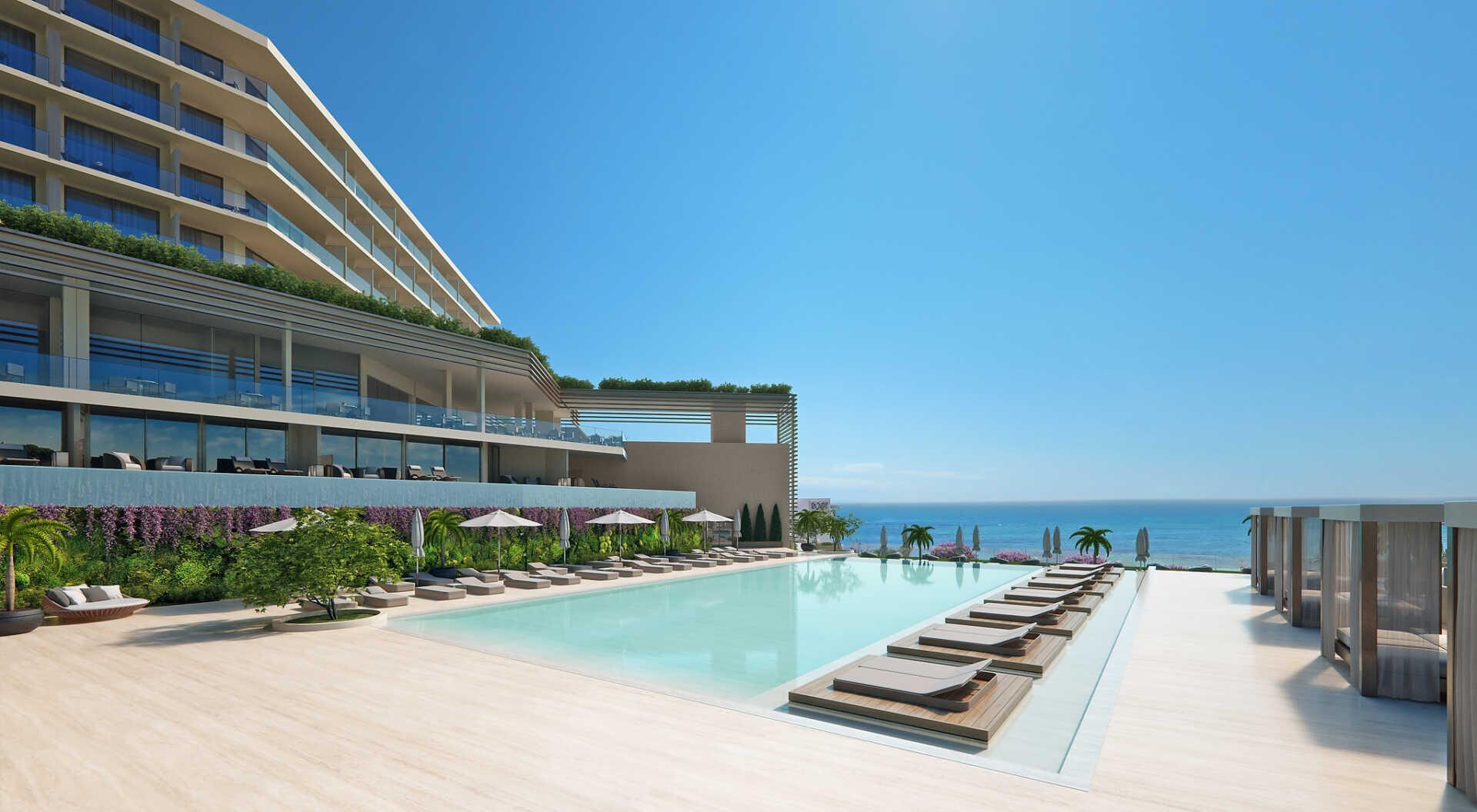 Amarande hotel-Ayia Napa-Jumbo Travel-pool overview