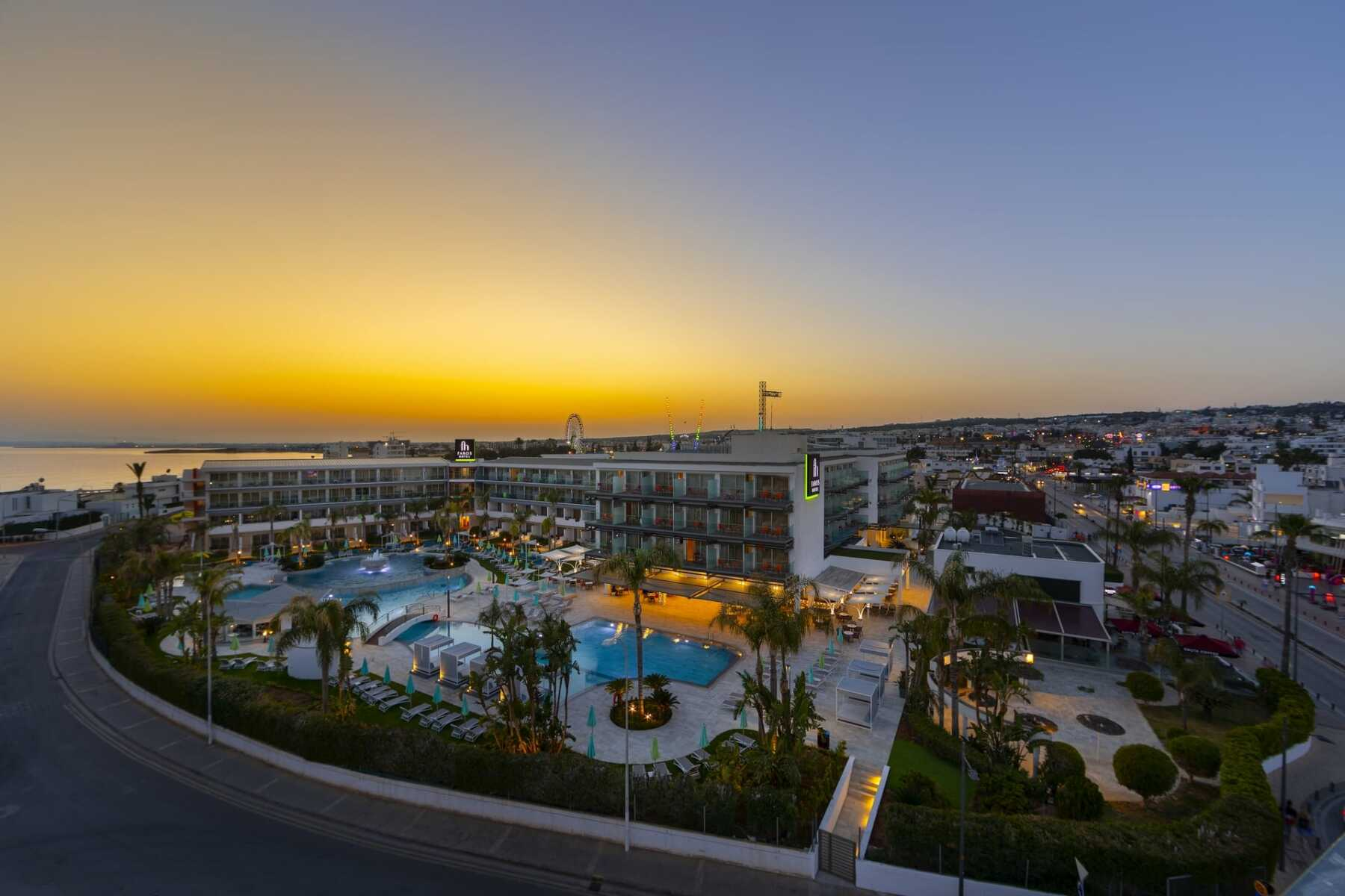 Faros Hotel-Ayia Napa-Jumbo Travel-overview hotel