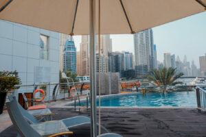 Signature Hotel-Al-Barsha- Jumbo Travel-pool view
