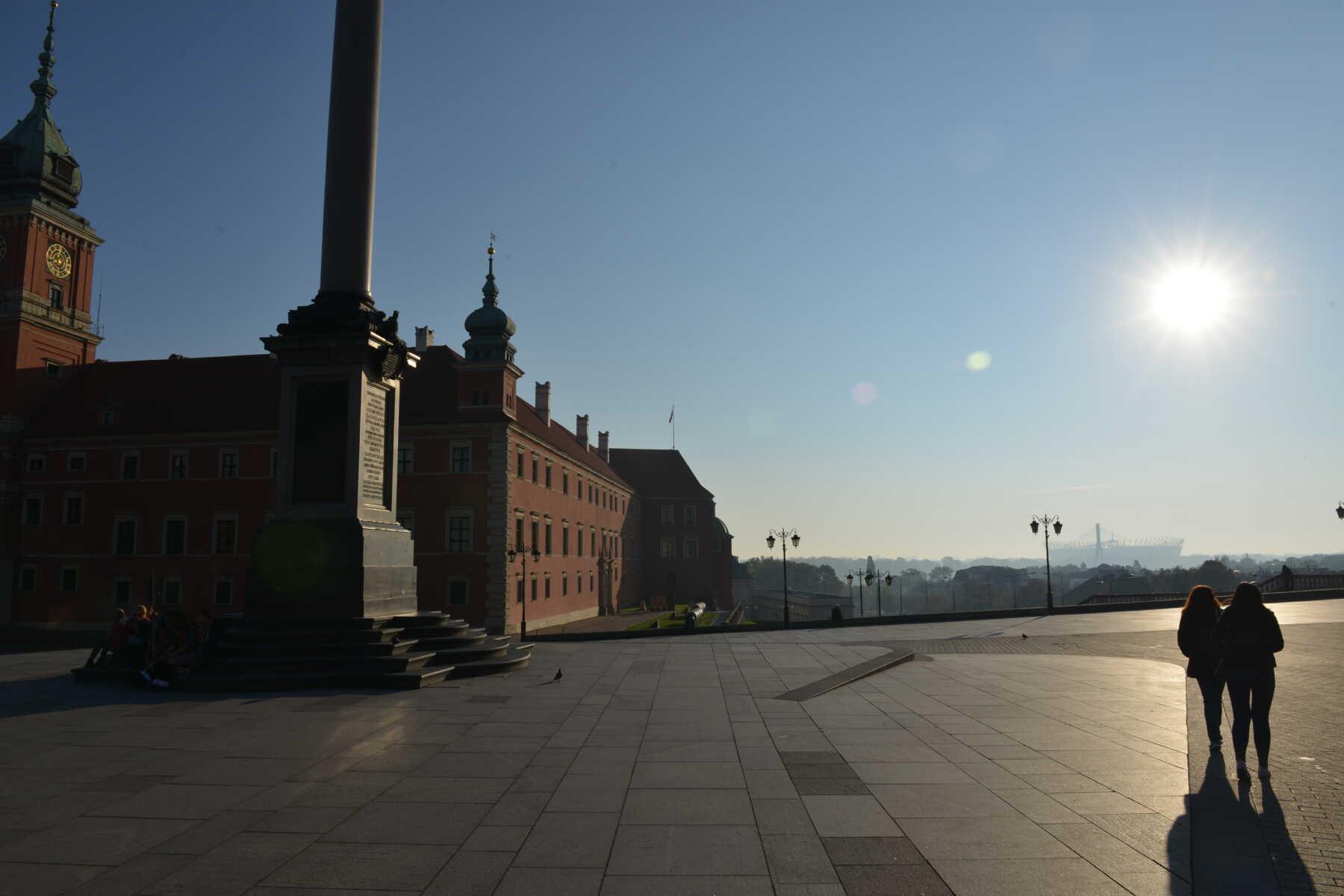 Varšava - centar grada, jutro