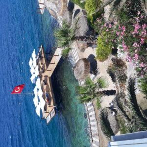 Hotel Sarpedor Boutique-Jumbo Travel-Bodrum-overview beach