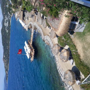 Hotel Sarpedor Boutique-Jumbo Travel-Bodrum-beach overview