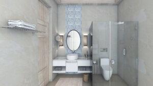 Bandos Maldivi-Jumbo Travel-superior villa bathroom