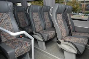 Sedišta u minibusu